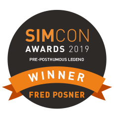 Fred Winning the Pre-Posthumous award from Simwood